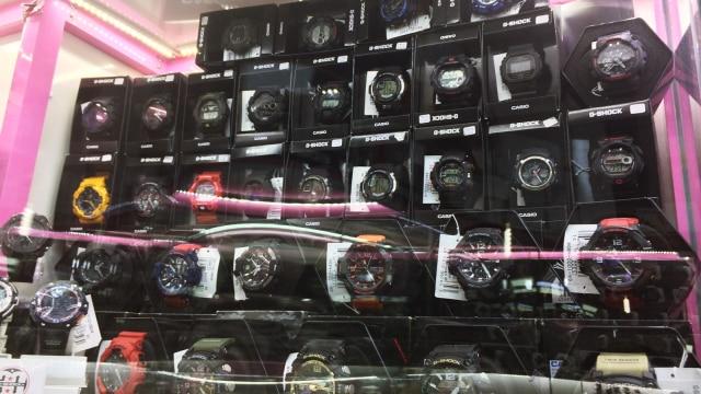 Jam Tangan G-Shock (Foto  Kelik Wahyu Nugroho kumparan) eef2eb25f6