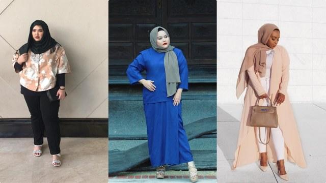 Padu Padan Ala 7 Selebgram Hijabers Plus Size Yang Bisa Kamu Tiru
