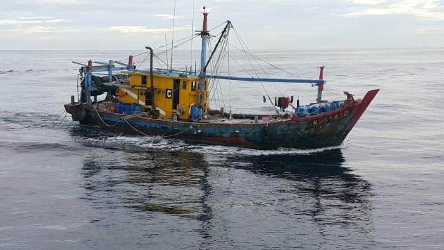Kkp Tangkap 4 Kapal Ikan Asing Ilegal Asal Malaysia Dan Vietnam