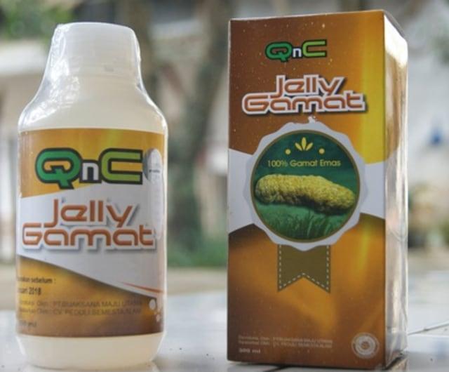 QnC Jelly Gamat 100% Asli ORIGINAL dari Agen Resmi Berpengalaman
