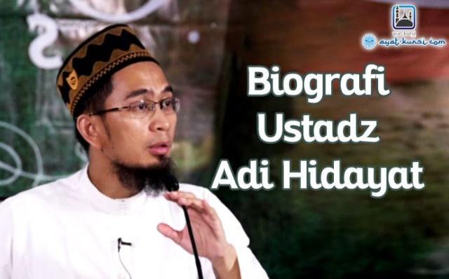 Profil Biografi Dan Prestasi Ustadz Adi Hidayat Lc Yang Luar Biasa