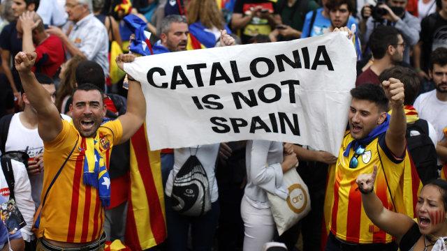 Bara Catalunya Dan Spanyol Dalam Lintasan Sejarah Kumparancom
