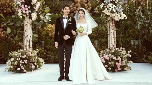Referensi Gaun Pengantin Ala 10 Selebriti Hollywood Hingga Korea