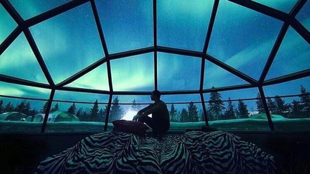 rumah dari es orang eskimo