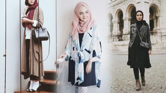 Inspirasi Padu Padan Outerwear Ala 10 Selebgram Hijab Kumparan Com