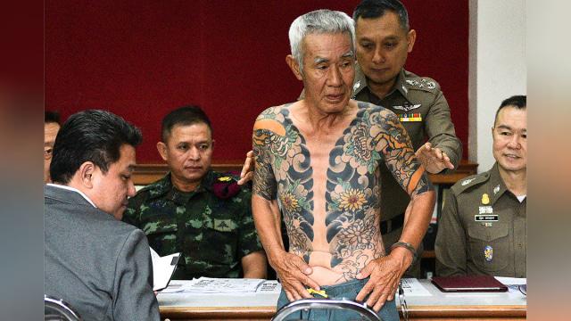 Makna Tato Yang Bikin Pemimpin Yakuza Ditangkap Di Thailand