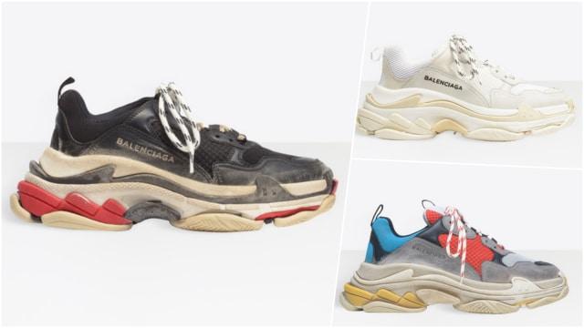 Sneakers Triple S Balenciaga Ternyata Buatan China - kumparan.com 077635c8c2