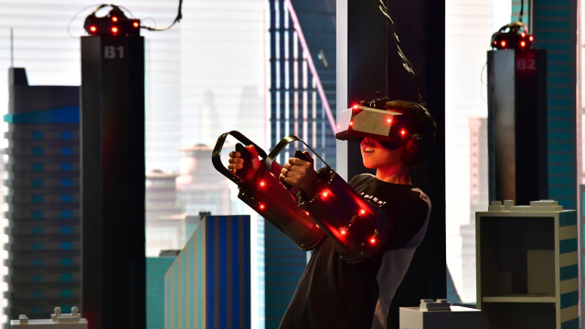 Taman Bermain Virtual Reality di Dubai. (Foto  AFP Giuseppe Cacace) 35e58a0821