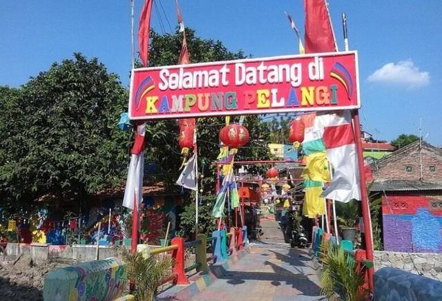 Kampung Pelangi Menjadi Wisata Baru Di Tengah Kota Semarang