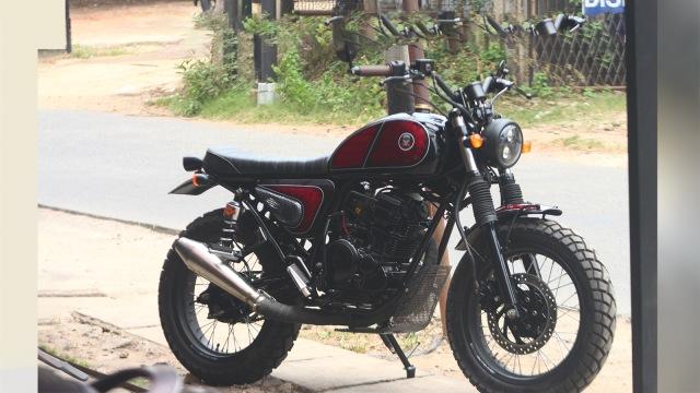 Bermodal Rp 8 Juta Bisa Bangun Yamaha Scorpio Bergaya Jap Style