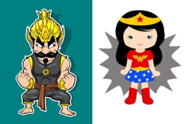 5 Tokoh Wayang Berkekuatan Superhero Kumparancom