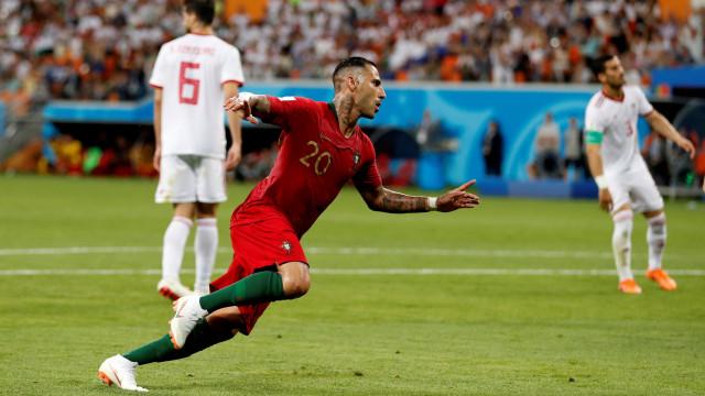 8fa3359b8e513 Perayaan gol Quaresma di laga vs Iran. (Foto  REUTERS Matthew Childs)