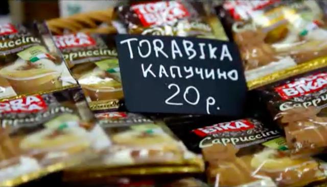 Kopi Torabika Cappucino dijual di Rusia | Sumber: Kumparan