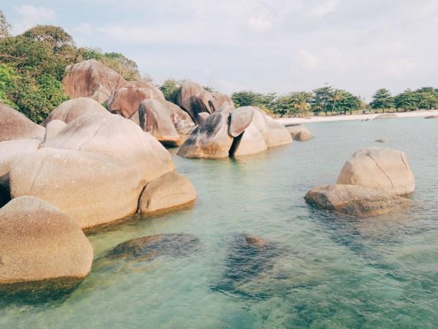 (Foto: Pantai Tanjung Tinggi, Belitung/Eka Situmorang-Sir)
