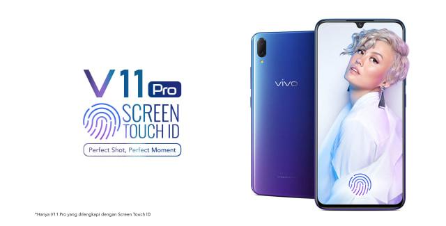 Harga Smartphone Vivo V11 Pro Android Pertama Dengan Fitur