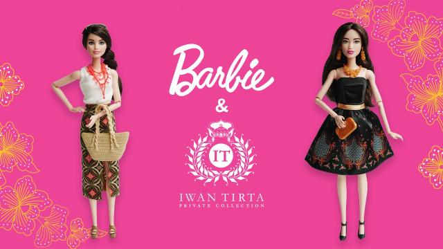 Barbie Batik Kirana Barbie Pertama Di Dunia Yang Kenakan Batik