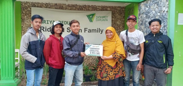 Donasi Terus Mengalir Untuk Gempa Sulteng Dari Komunitas Bikers Dari