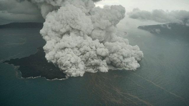 Image result for anak gunung krakatau
