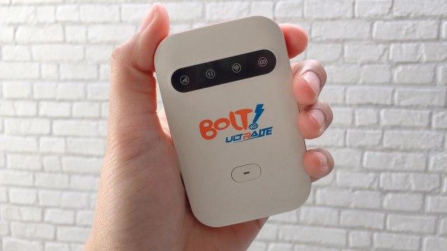 Layanan internet 4G LTE Bolt. (Foto: Surawira Lintang Ningtyas/kumparan)