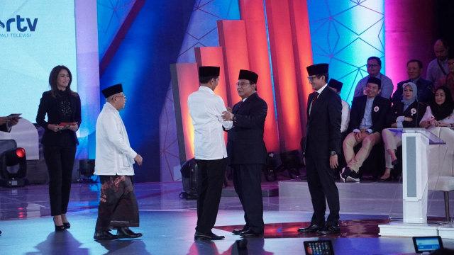 Review Debat Pilpres 2019 Edisi I : Jokowi Yang Tidak