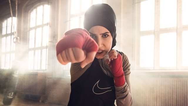 Image result for boxing hijab