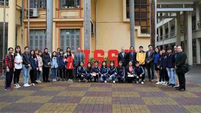 Peresmian Bahasa Indonesia menjadi mata kuliah di Vietnam National University   Foto: Dok. KBRI Hanoi