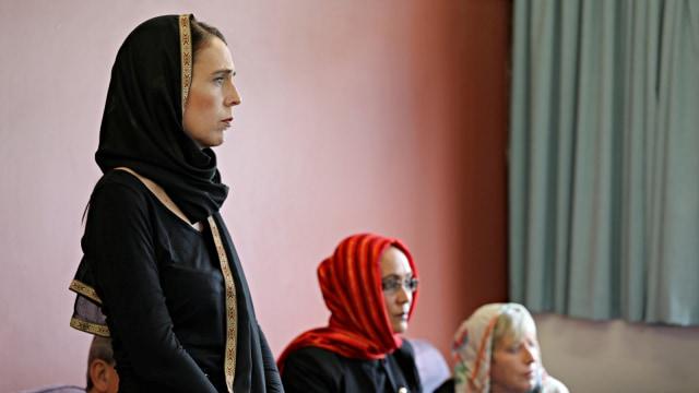 Pelaku Penembakan Di New Zealand Image: PM Ardern Bersumpah Tak Akan Sebut Nama Pelaku Penembakan