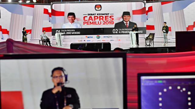 KPU Gelar Gladi Bersih Debat Keempat Pilpres 2019