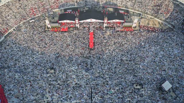 Pendukung Prabowo: GBK Kayak Ka'bah, Jumlah Peserta Lebih dari 212