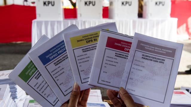 Cek Sebelum Mencoblos, Surat Suara Harus Ada Tanda Tangan Ketua KPPS