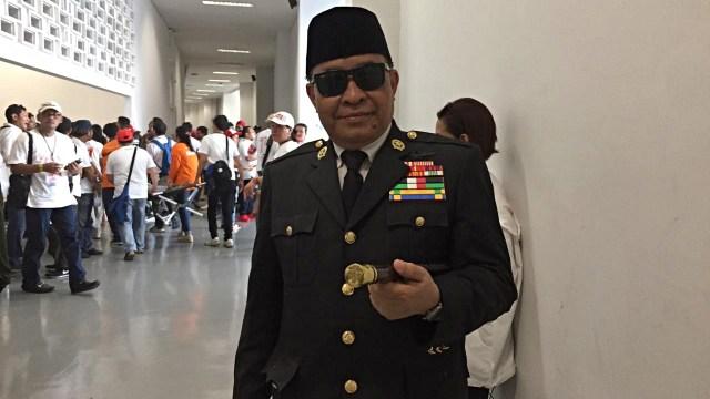 Sukarno KW Hadiri Kampanye Akbar Jokowi-Ma'ruf Amin di GBK