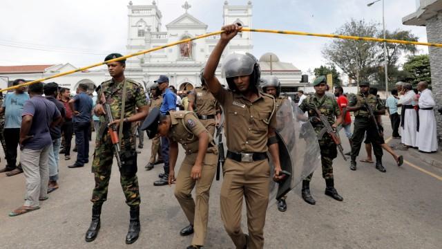 Sri Lanka Diserang Bom Kedelapan, Total 160 Orang Tewas