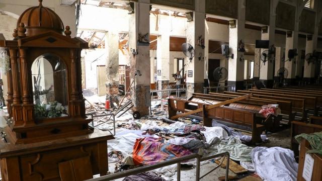 Jaringan Internasional Diduga Terlibat dalam Teror Bom Sri Lanka