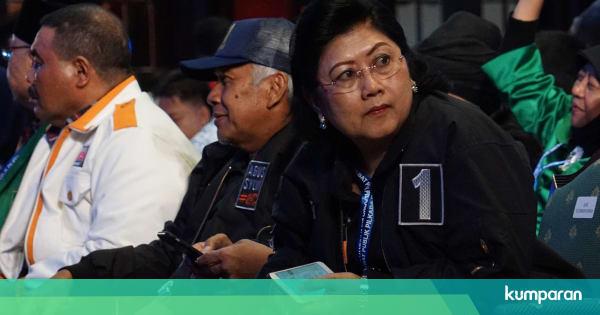 Ngabalin Sakit: Hinca Sudah Jenguk Ani Yudhoyono: SBY Dan Keluarga Cukup