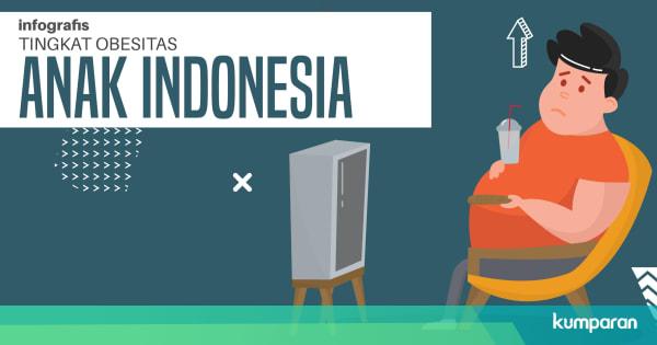 Duh! 21,8 Persen Orang Indonesia Obesitas, 33 Persen Kurang Olahraga