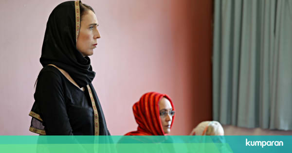 Muslim Selandia Baru Hd: Makna Kerudung Hitam Jacinda Ardern Bagi Keluarga Korban