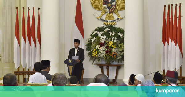 Ucapan Peringatan Maulid Nabi Jokowi: Teladani Sifat