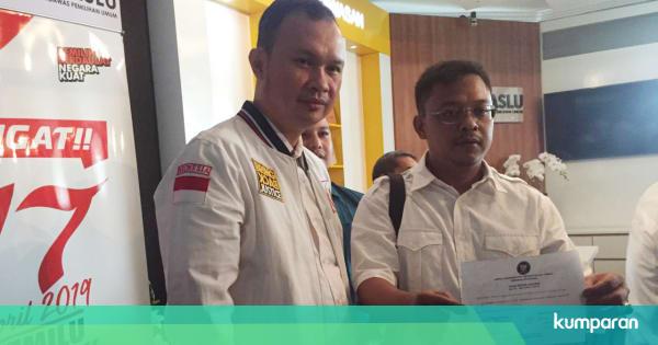 ACTA Laporkan Komisioner KPU Pramono Ke DKPP Soal Cuitan