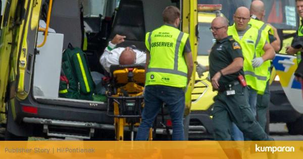 Selandia Baru Penembakan Picture: Setop Sebarkan Video Penembakan Di Selandia Baru