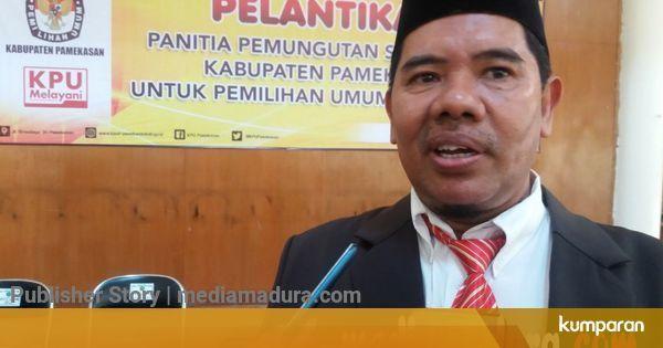 KPU Pamekasan Target Rekapitulasi Hasil Pemilu 2019